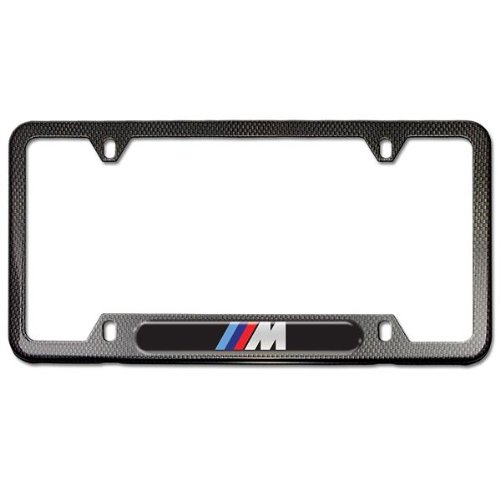 Where To Buy Bmw Carbon Fiber Look License Plate Frame