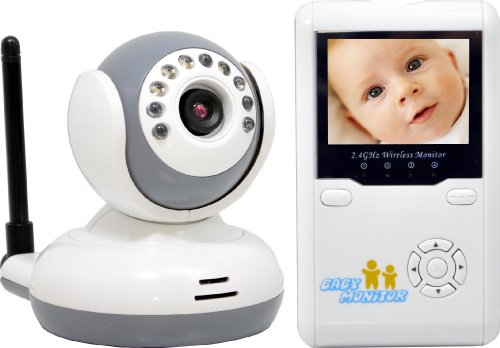 LTS LTCMW304C5 Digital 2.4G Hertz Wireless Baby Monitor with 2.4-Inch LCD - 1