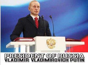 ウラジーミル・プーチン ロシア連邦 首相 1/6 フィギュア 予約販売品