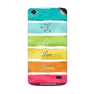 Skin4Gadgets Lets Love Life Phone Skin STICKER for INTEX AQUA STAR II HD