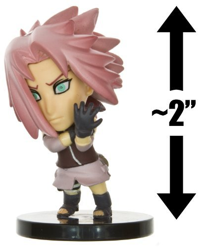 "Naruto Heros Chara-Pedia 2"" Trading Figure - Sakura"