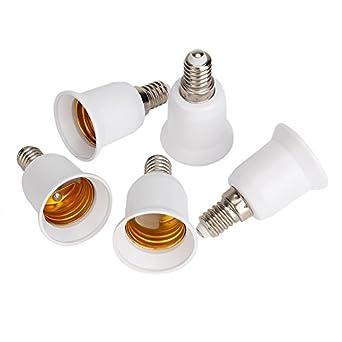szdshl generisches e14 zu e27 schraube led licht lampen birnen adapter konverter praktische. Black Bedroom Furniture Sets. Home Design Ideas