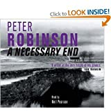 A NECESSARY END BARGAIN CD AUD Peter Robinson