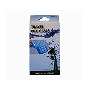 Travelproof Lightweight Water Resistant Travel Pill Case Set