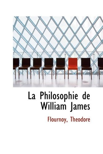 La Philosophie de William James