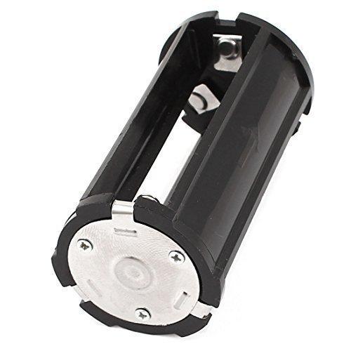 Noir Porte-piles Caisse 3x3.7V 18650 Piles pour Lampe Torche