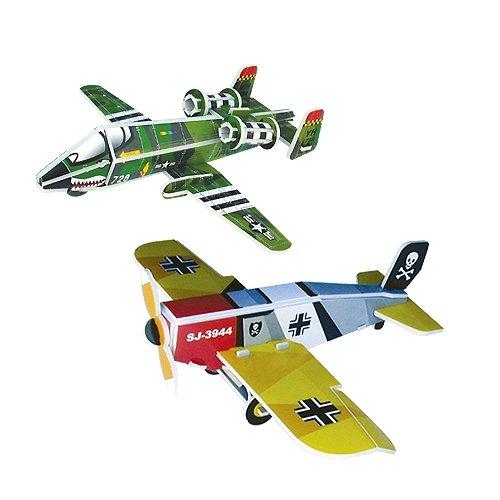 Jigsaw 3D Puzzle Transportation - A-10 Thunderbolt/ Junker D-1