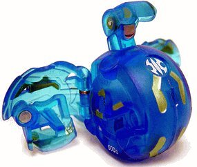 Bakugan New Vestroia Series 2 Aquos [Blue] Translucent Bront