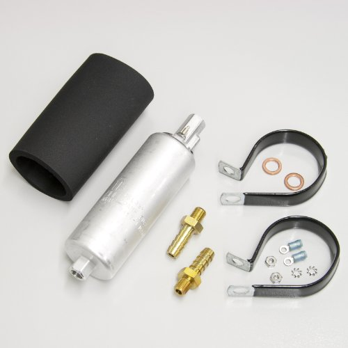 Walbro Gcl620-1 190 Lph Electric Inline Fuel Pump Efi Universal With Install Kit