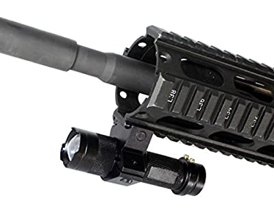 350Lm CREE LED Tactical Gun Rifle Shotgun flashlight Mount Hunting Light AA Battery. by TRINITY SUPPLY INC