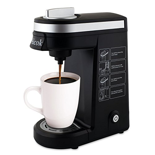 Aicok-Single-Serve-K-cup-Coffee-Maker