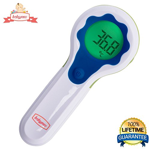 [Mini] Digital Baby Thermometer - Accurate Temporal Baby Forehead Scan - Non Contact Baby Thermometer - Laser Acurate - Smart Infrared