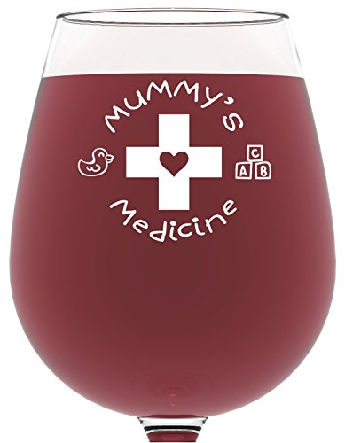 mummys-medicine-funny-wine-glass-385-ml-best-christmas-gifts-for-mum-unique-birthday-gift-for-women-