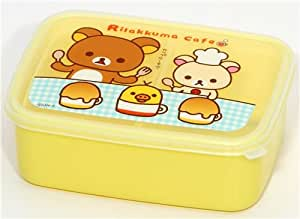 rilakkuma cafe bear bento box lunch box san x toys games. Black Bedroom Furniture Sets. Home Design Ideas