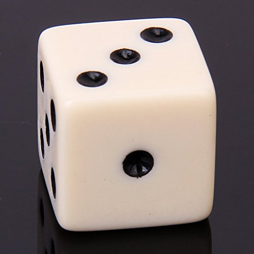SODIAL(R) Mirror Dice Illusion Trick Game Magic Props magic props listen dice