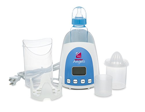 TEG Little Angels 3 in 1 Multifunction Breastmilk & Bottle Warmer w/ Auto Shut Off Sterilizer Juicer LCD Display