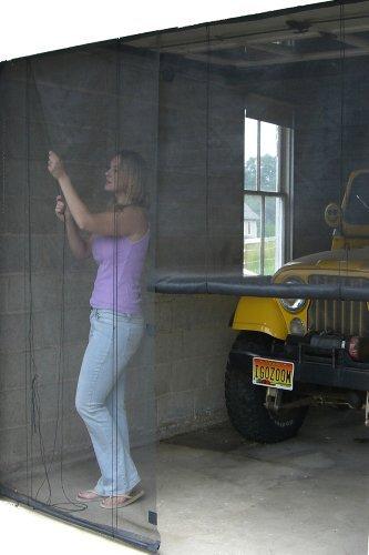 Garage door decorations - Snavely Internatl Ds83938 Garage Instant Screen Door