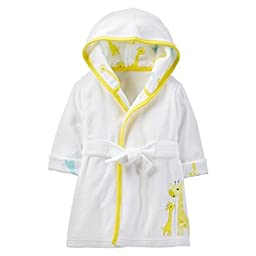 Carter\'s Just One You Babys\' Girraffe Robe - Yellow