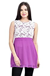 Femninora Purple Color Tunic