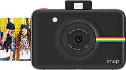 Polaroid POLSP01B Snap Instant Digital Camera (Black) with ZINK Zero Ink Printing Technology
