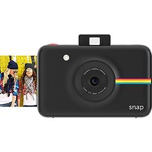 ポラロイド Snap デジタルインスタントカメラ (ブラック) プリンタ内蔵 ZINK フォトペーパー対応
