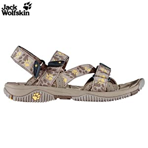 Jack wolfskin clearwater women sandale damen almond 4 for Ab salon equipment clearwater fl