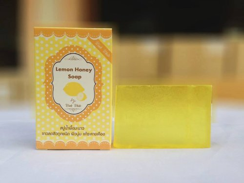 Glutathione Whitening Mix Honey And Lemon Soap 70 G. Vitamin C Acne Skin,Face Personal Care Handmade Soap
