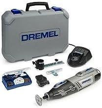 Dremel  Akku-Multifunktionswerkzeug Li-Ion (10,8 Volt) 8200-2/45, 2 Vorsatzgeräte, 45 Zubehöre