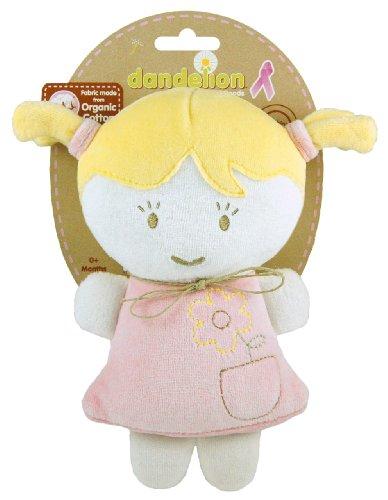 Dandelion Pink Organic Toy Baby Doll