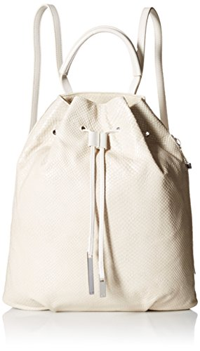 halston-heritage-embossed-lizard-backpack-damen-beige