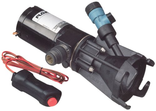 Flojet 18555-000A, Portable RV Waste Pump, 12 Volt DC, Macerator, Includes Carrying Case (Dc Storage compare prices)