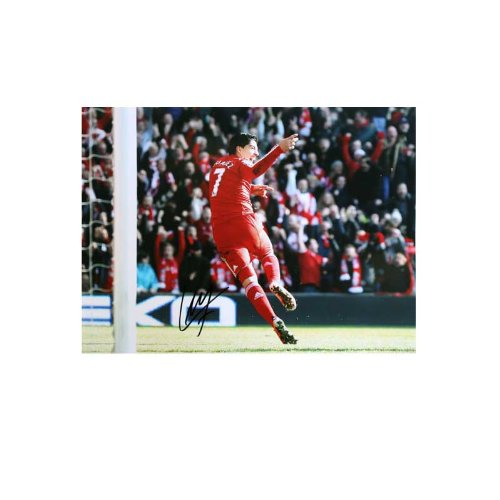 Luis Suarez Signed Photo: Man Utd Goal