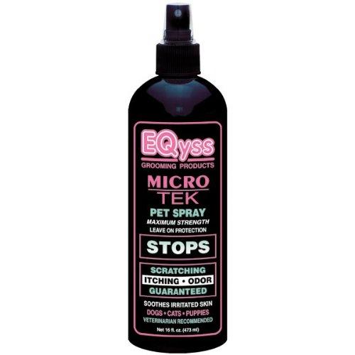 EQyss Micro-Tek Medicated Pet Spray, 16-Ounce