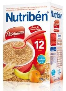 Nutriben Desayuno Copos De Trigo Con Frutas 750 G por JOHNSON JOHNSON ROC NEUTROGENA
