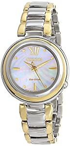 Citizen Women's EM0337-56D Sunrise Analog Display Japanese Quartz Two Tone Watch