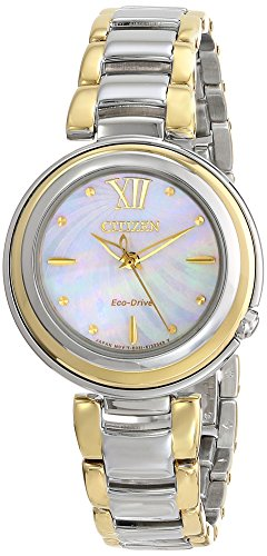 Citizen Eco-Drive Sunrise Stainless Steel - Two-Tone Women's watch #EM0337-56D