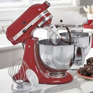 Empire Red Kitchenaid Mixer front-465231