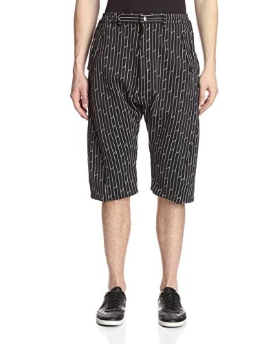Vivienne Westwood Men's Geo-Print Shorts