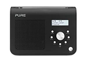 Pure ONE Classic Series II Portable DAB/FM Radio - Black