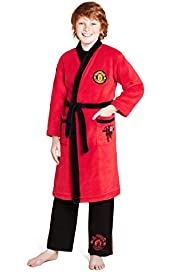 Manchester United Dressing Gown with Stay New™