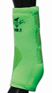 Pro Choice Sports Medicine Boots II - Lime Green, Medium