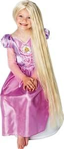 Disney Tangled Rapunzel Glow in the Dark Wig - 3+ years