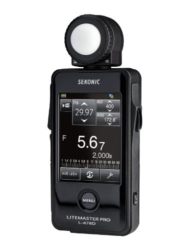 Sekonic LiteMaster Pro Touchscreen Exposure Meter without Radio Transmitter