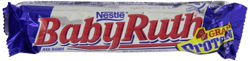 Nestle Baby Ruth Milk Chocolate Candy Bars, 2.1 Ounce Bar (Pack of 24) (Baby Ruth Chocolate compare prices)