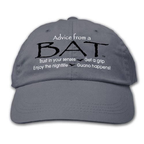 Advice From A Bat ~ Columbia Blue HatAdvice From A Bat ~ Columbia Blue Hat