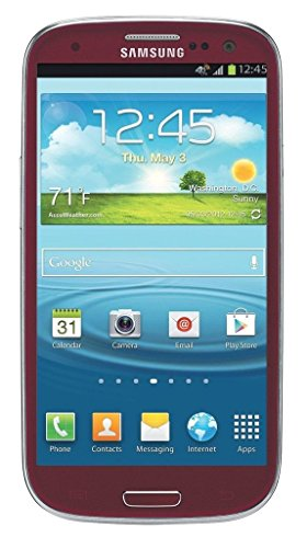 Samsung Galaxy S3 I747 16GB Unlocked GSM LTE Android Smartphone - Red (Samsung Galaxy S3 Red compare prices)