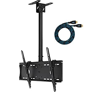 Cheap  Cheetah Mounts APLCMB Tilting and Swiveling  Ceiling Mount for LCD