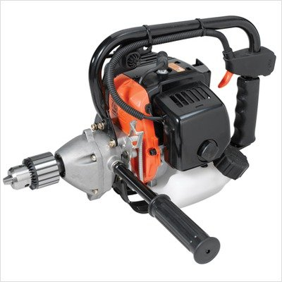 Tanaka TED-270PFL Commercial Grade 27cc Two-Stroke Gas Powered Drill with Manual Lock