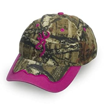 browning s magenta camo cap one size