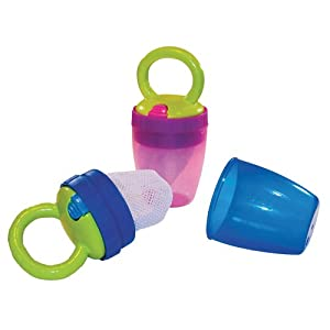 Sassy Teething Feeder, Boy, Blue/Green